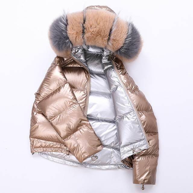 Veste femme hiver à capuche court 21