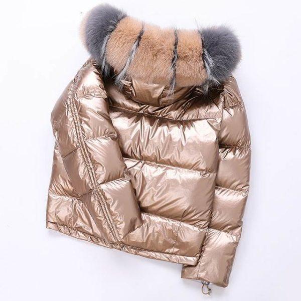 Veste femme hiver à capuche court 22