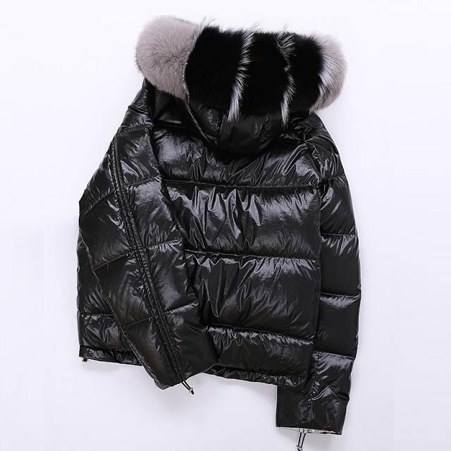 Veste femme hiver à capuche court 24
