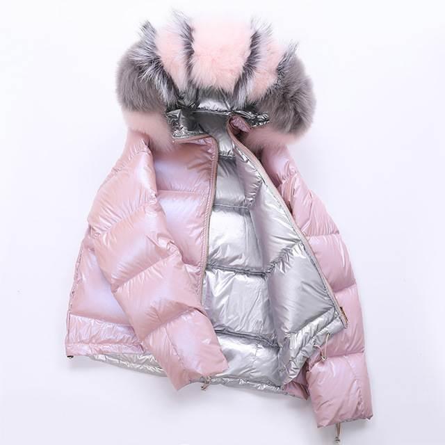 Veste femme hiver à capuche court 25