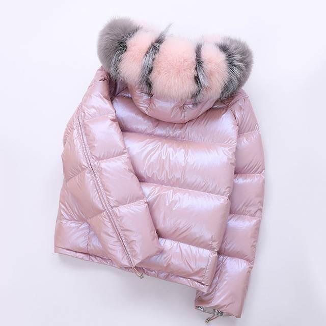 Veste femme hiver à capuche court 26
