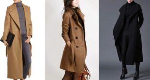 Manteau laine femme de luxe