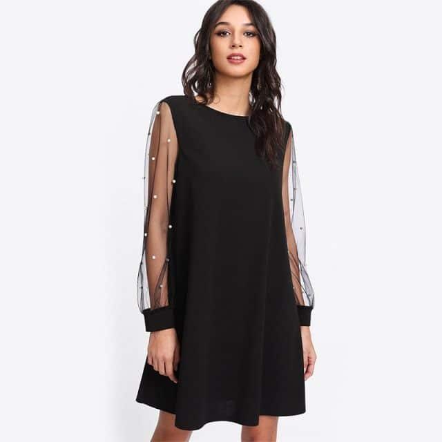 Robe femme noir 32