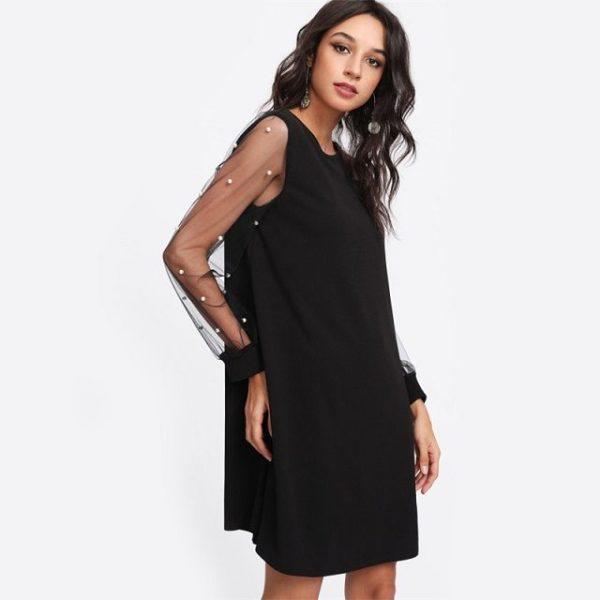 Robe femme noir 34