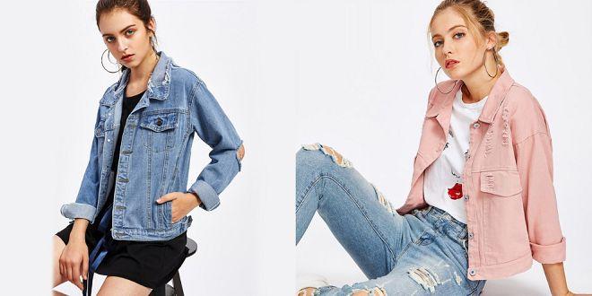 Veste en jean femme tendance 2019