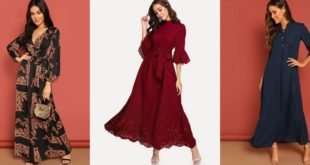 Robe longue printemps-été luxe