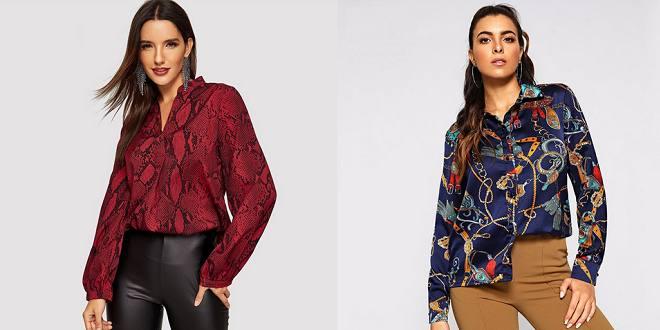 Chemise pour femme chic 2019