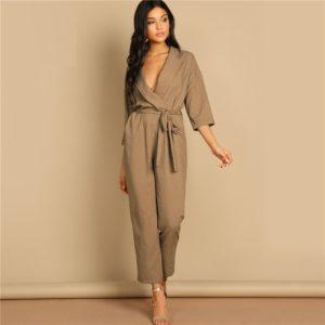 Combinaison femme avec poche mode 2019