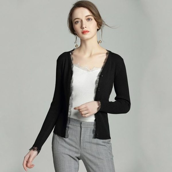 Gilet court femme tendance mode