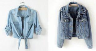 Veste en jean pour femme 2020