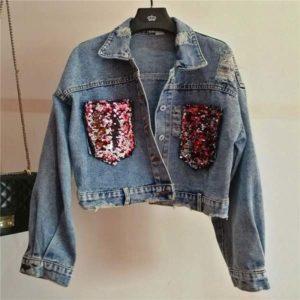 Veste en jean vintage au meilleur prix