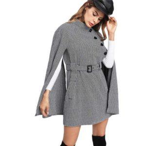 Manteau cape femme mode