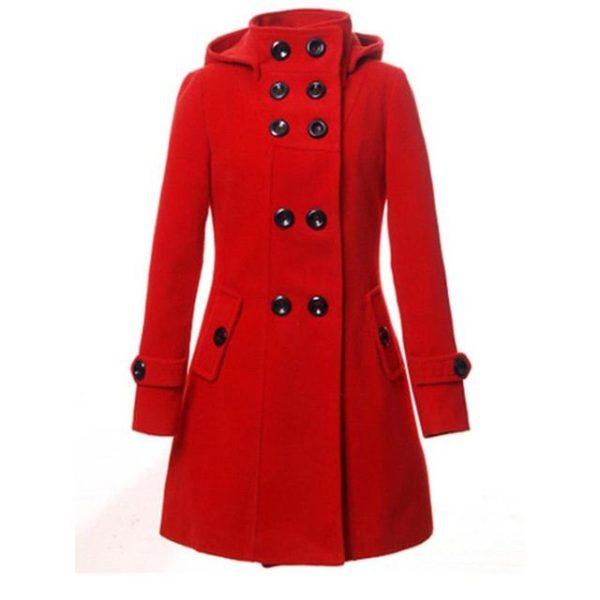 Manteau femme avec capuche mode