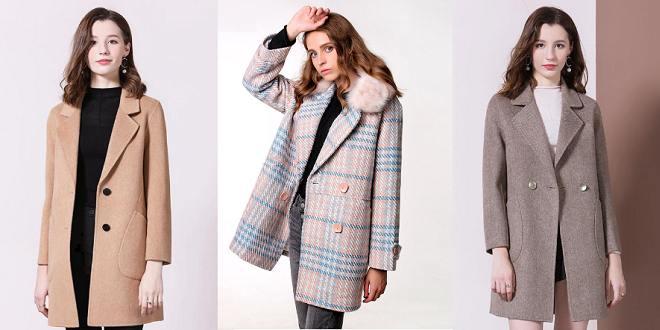 Manteau en laine mode 2020