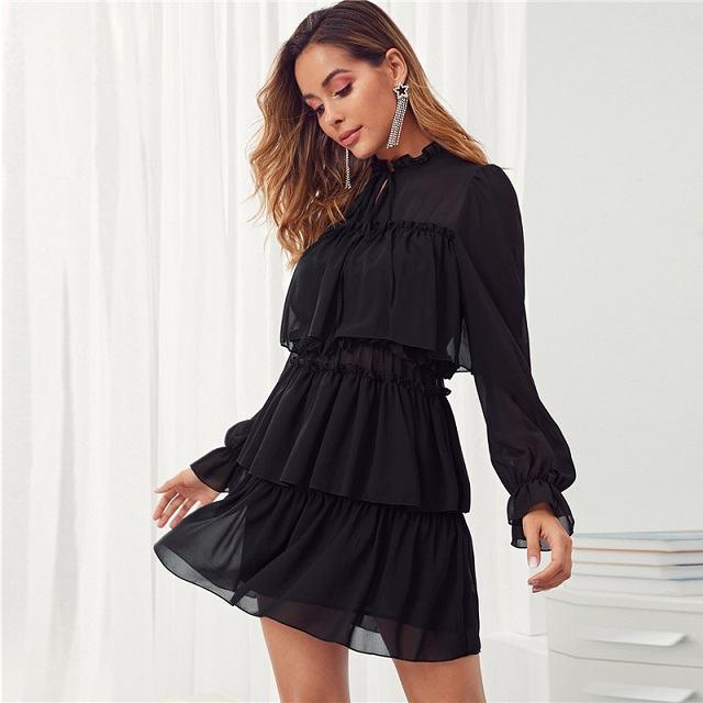Mini robe chic 26