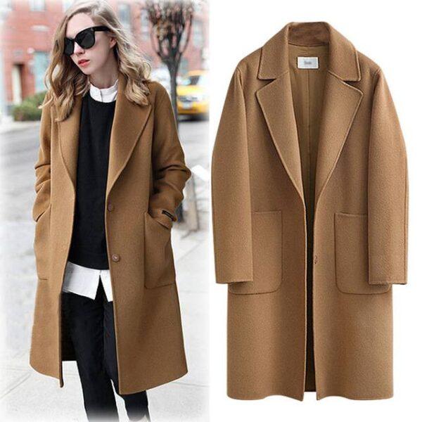 Manteau femme long 1