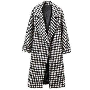 Manteau laine femme mode
