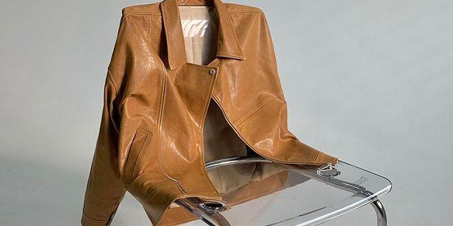 Vestes en cuir femme mode